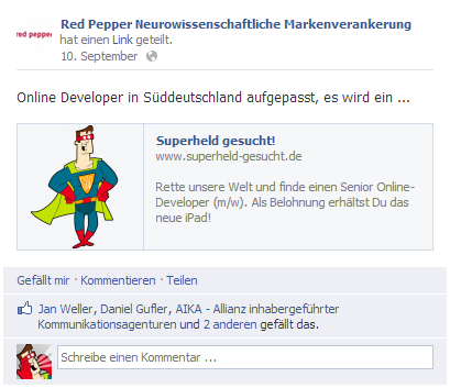 Facebook RedPepper