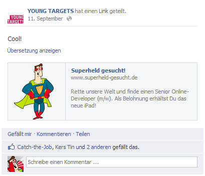 Facebook YoungTargets