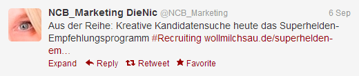 Twitter NCB Marketing
